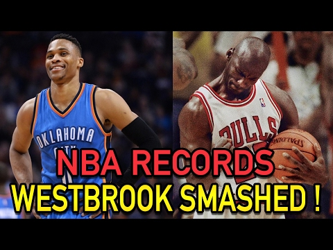 5 NBA Records RUSSELL WESTBROOK Has BROKEN! NBA Record 42 Triple Doubles!
