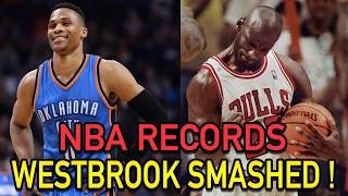 5 NBA Records RUSSELL WESTBROOK Has BROKEN! NBA Record 42 Triple Doubles!