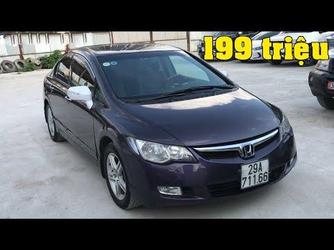 Honda Civic số tự động 1.8 AT 2006 giá 199 triệu