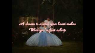 Cinderella 2015 - A Dream Is A Wish Your Heart Makes - Lyrics / Karaoke