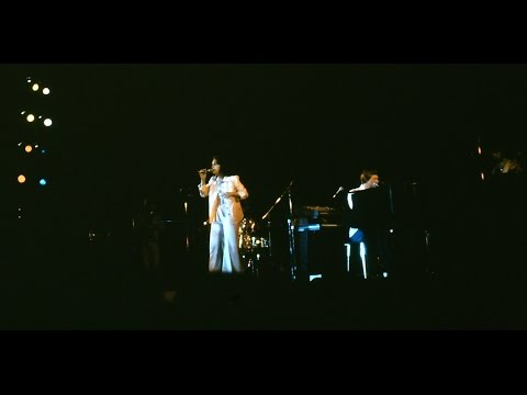 The Carpenters performing on April 21, 1974