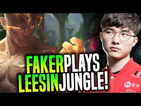 Is Faker Better Than Peanut? - SKT T1 Faker Showing Some Lee Sin Mechanics   SKT T1 Replays