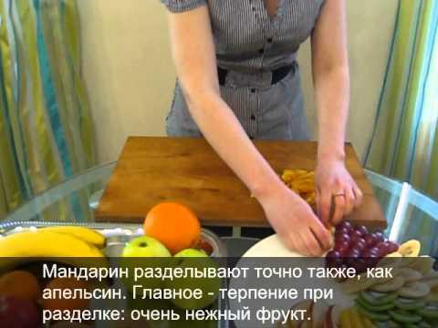 Фруктовые нарезки рецепты с фото