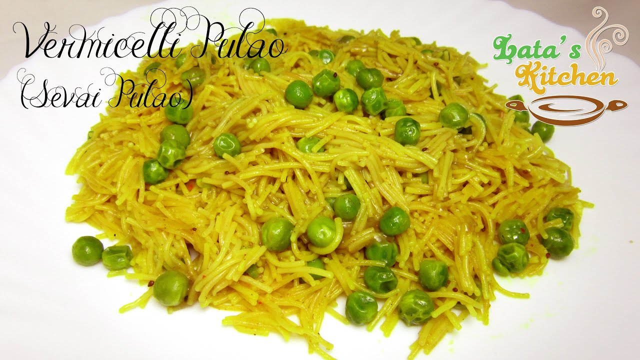 Quick and easy breakfast recipe indian sevai pulao recipe quick and easy breakfast recipe indian sevai pulao recipe sewai recipe in hindi by lata jain youtube forumfinder Choice Image