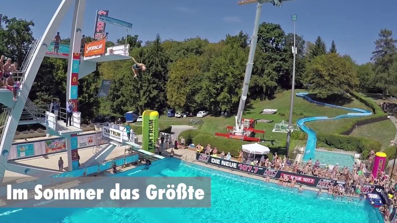 Freibad im Badezentrum Sindelfingen - Im Sommer das Grte ...