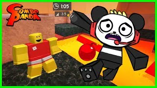 Roblox Super Bomb Survival LAVA LAND Let's Play with Combo Panda