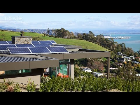 Self-sufficient - substantial home with a positive energy rating