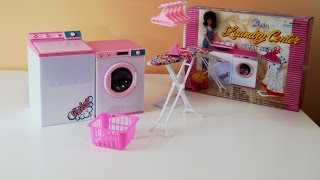 Gloria's Laundry Center - Doll Furniture Play Set (barbie)