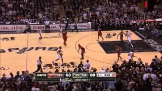 Spurs 50-25 Run vs. Heat (2013 Finals Game 3)