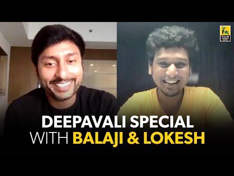Lokesh Kanagaraj & RJ Balaji Diwali Special Interview | Master | Mookuthi Amman | Baradwaj Rangan