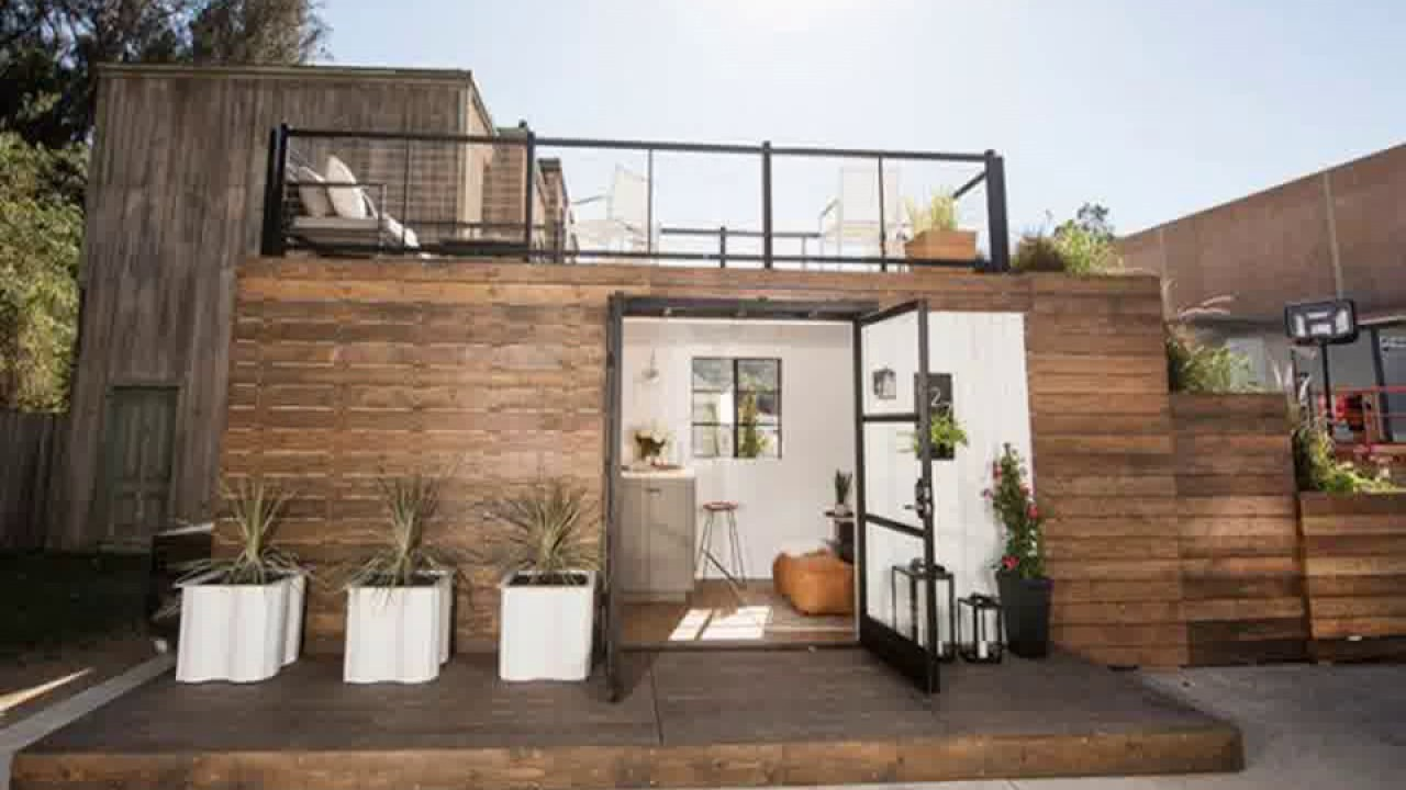 Shipping Container Home With Rooftop Deck