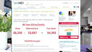 You're Crazy Not To Apply For ObamaCare..It's Health Coverage at 70% Off
