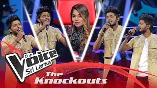 Hasindu Sumathipala| SuckDevi Vanuma (සක්දෙවි වැනුම) | The Knockouts | The Voice Sri Lanka Thumbnail