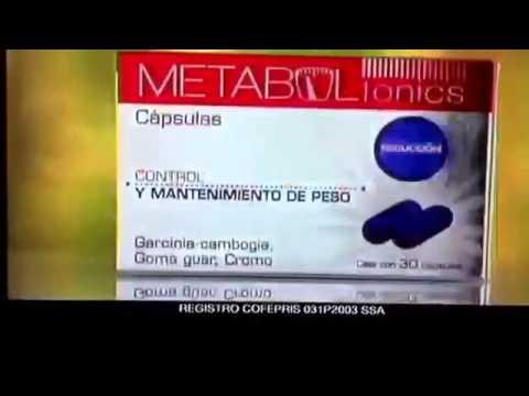 Pastillas para adelgazar metaboltonics sen