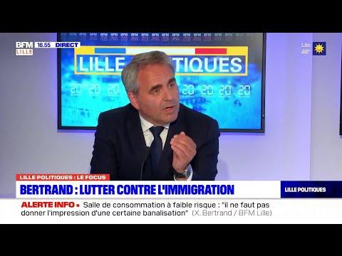 Lille politiques: l'émission du 10 juin avec Xavier Bertrand (LR), candidat aux