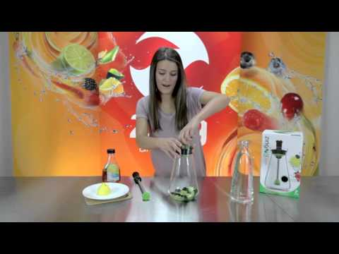Zing 54 Recipes - Cucumber Lemon Water