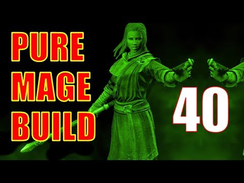 Skyrim Pure Mage Walkthrough NO WEAPONS NO ARMOR Part 40  Extra Effect Last Call