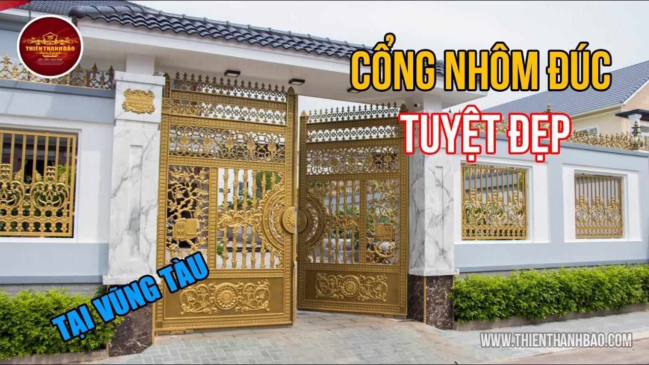 Cổng biệt thự đẹp tại Vũng Tàu