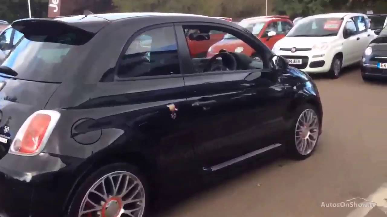 Abarth Fiat 500 Abarth 595 Competizione Black 2014 Youtube