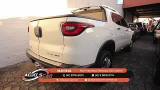 LINDA FIAT TORO TOP DE LINHA AQUI NA ALDO'S CAR MULTIMARCAS