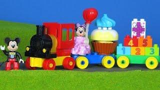 Micky Maus Wunderhaus Zug deutsch: Zug von LEGO DUPLO mit Minnie | Disney Unboxing