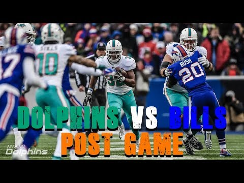 Miami Dolphins Vs Buffalo Bills Week 17 Post Game [Dolphin Fan Reaction]