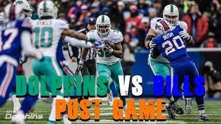Miami Dolphins Vs Buffalo Bills Week 17 Post Game [Dolphin Fan Reaction]