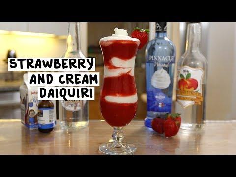 Strawberry and Cream Daiquiri