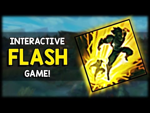 Put your League of Legends skills to the test with this Interactive Flash Minigame!