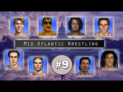 TEW2016 - Mid Atlantic Wrestling - Episode 9 (Gino/Bradford)