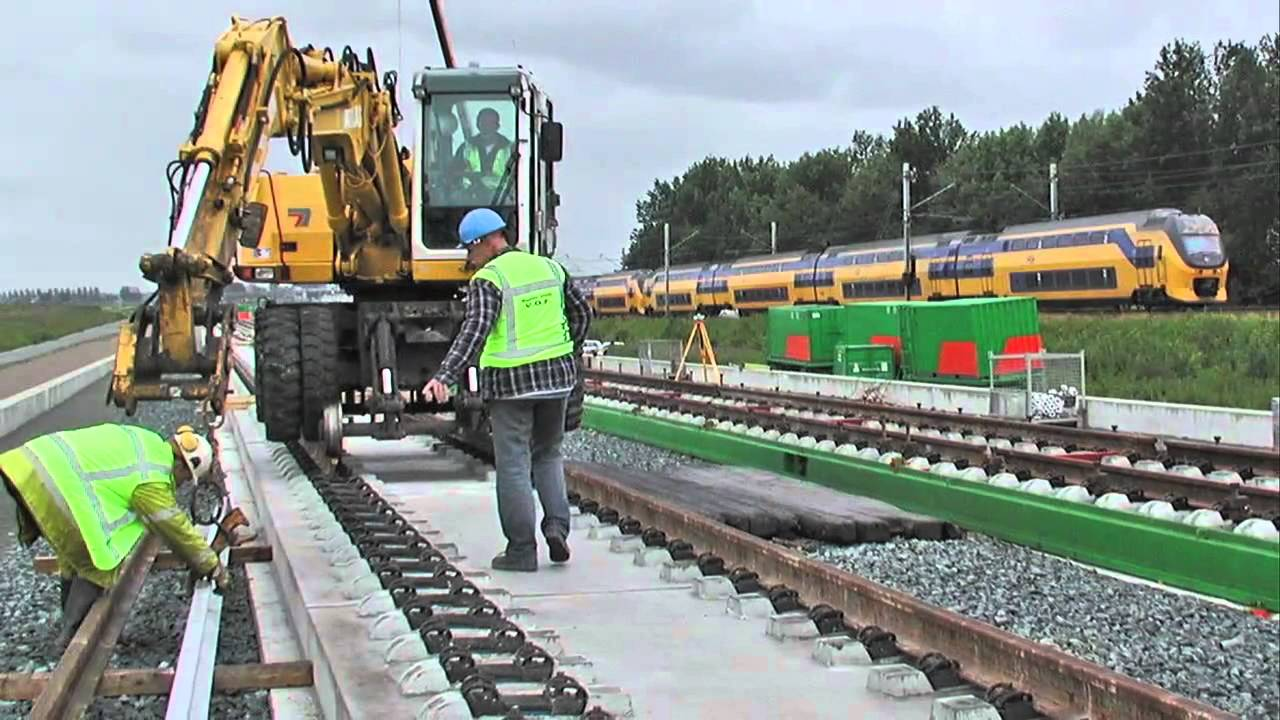 Dutch High Speed Rail Line Video: Fluor - YouTube