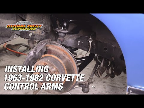 A Quick Look at Installing 1963-82 Corvette Upper and Lower Control Arms