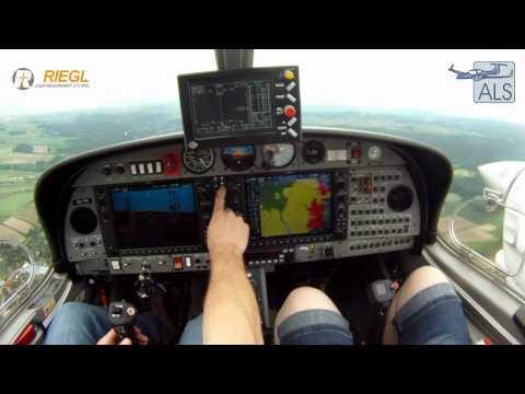 RIEGL LMS-Q680i Airborne Laser Scanner in operation