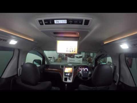Toyota Vellfire/Alphard  - OEM roof monitor