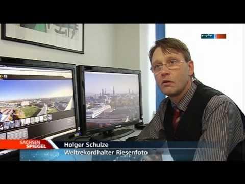 Television News   - MDR-TV - www.dresden-26-gigapixels.com