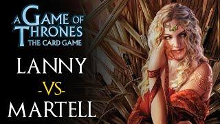 Lannister NA (Kneel) vs Martell DWDW