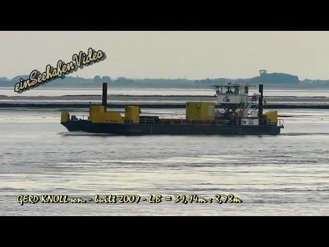 utility vessel GERD KNOLL sen  DCFV2 IMO 8745905 Emden Arbeitsschiff
