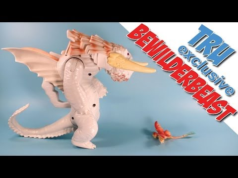 How to Train Your Dragon 2 Toys R Us White Bewilderbeast