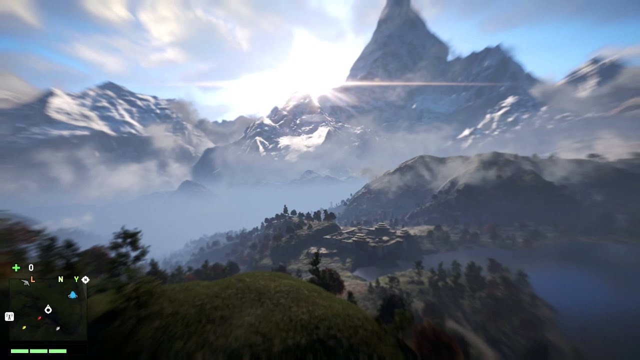 Far Cry 4 Wingsuit Jump From Very High Point Xbox One Gameplay