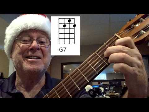 HOW TO PLAY JINGLE BELLS ON THE UKULELE WITH 2 CHORDS