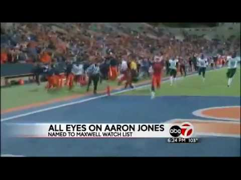 Aaron Jones on Maxwell Award watch list