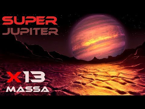 Júpiter 13 Vezes! Planeta Gigante Kappa Andromedae b Space Engine