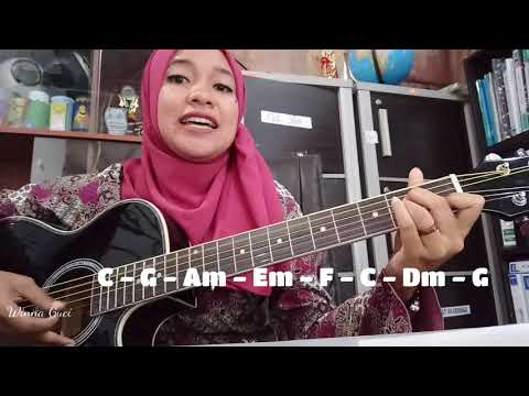 Chord Gitar Karena Su Sayang C Mayor