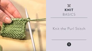 Knit the Purl Stitch