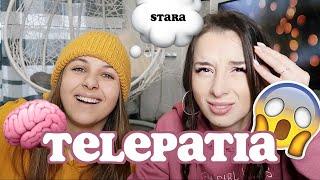 TELEPATIA challenge z PRZYJACIÓŁKĄ *szok*| Sylwia Lipka
