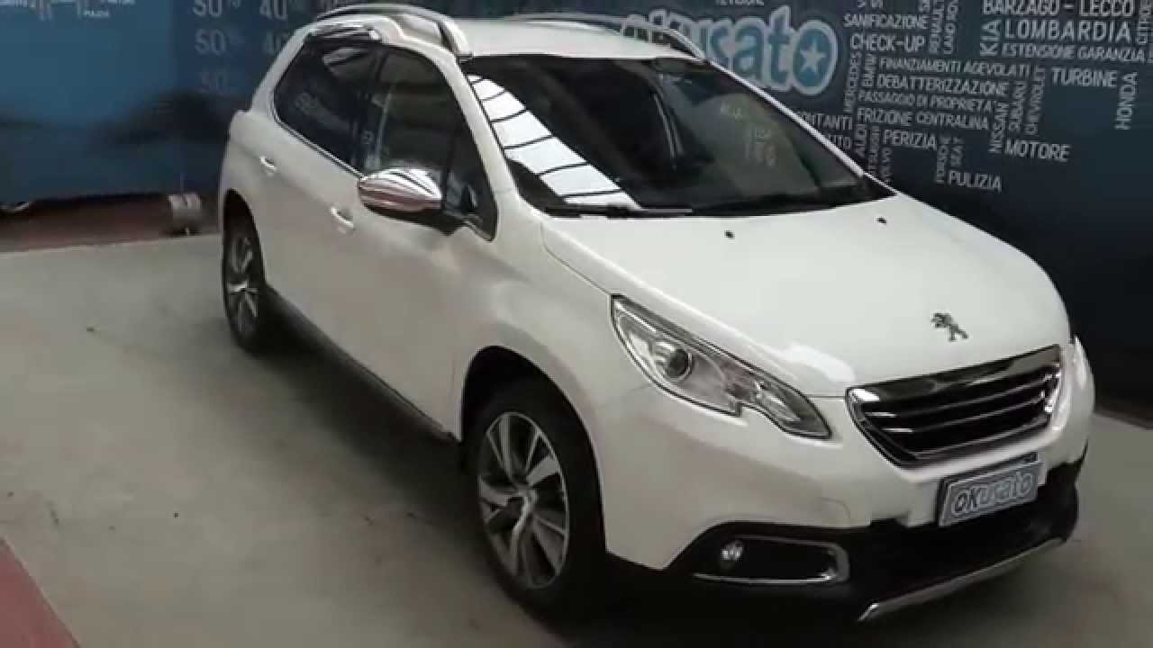 peugeot 2008 crossover 1 6 diesel allure km 0 aziendali e usate youtube. Black Bedroom Furniture Sets. Home Design Ideas