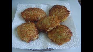 Картофельные оладьи с начинкой Маринкины творинки