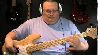 Styx Man In The Wilderness Bass Cover with Notes & Tablature