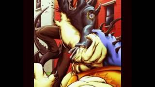 Годзилла 1998 г под музыку skillet monster.