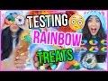 Testing WEIRD and CRAZY Tumblr Rainbow Treats!!